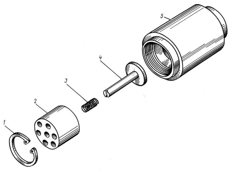 Клапан нагнітальний