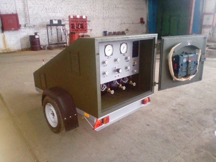 Service cart ТС from 4 to 18 cylinders