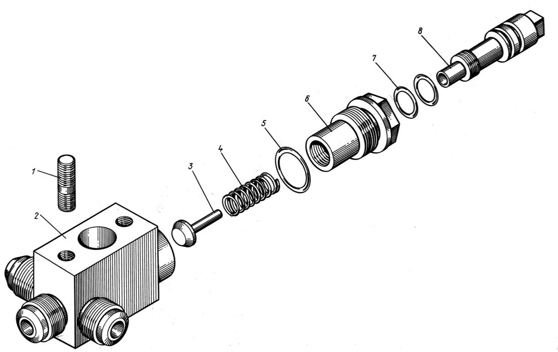 Клапан редукционный