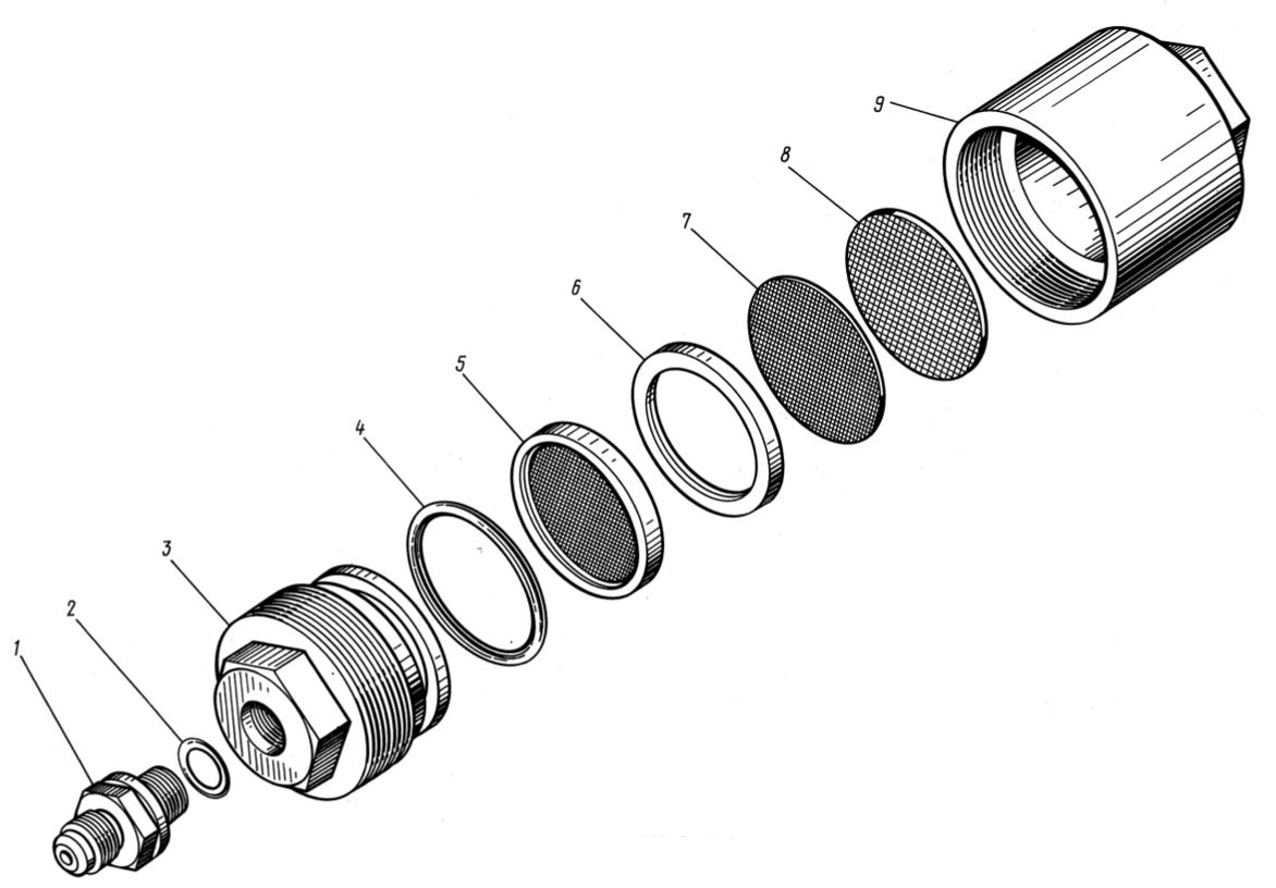 Фильтр подкачивающего насоса